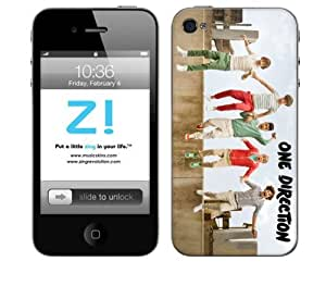 Zing Revolution One Direction Premium Vinyl Adhesive Skin for iPhone 4/4s - Retail Packaging - Jump by icecream design