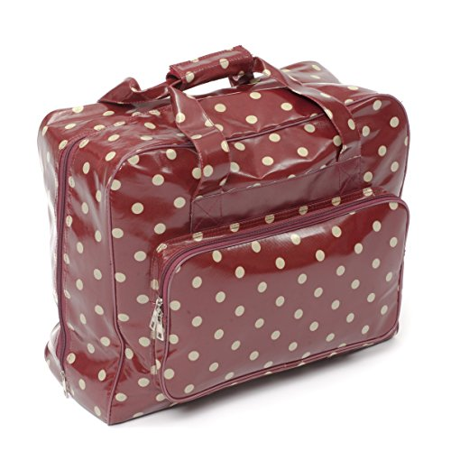 Amazon.com: Hobby Gift Crafters bag in burgundy vinyl with ...