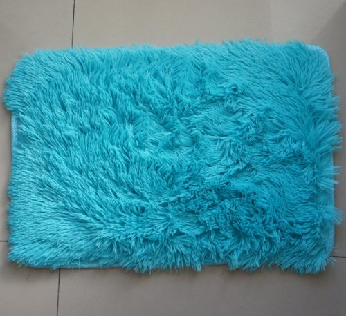 Turquoise Kitchen Rugs New Rug In The: FADFAY Super Soft Modern Shaggy Area Rugs,Turquoise Rug