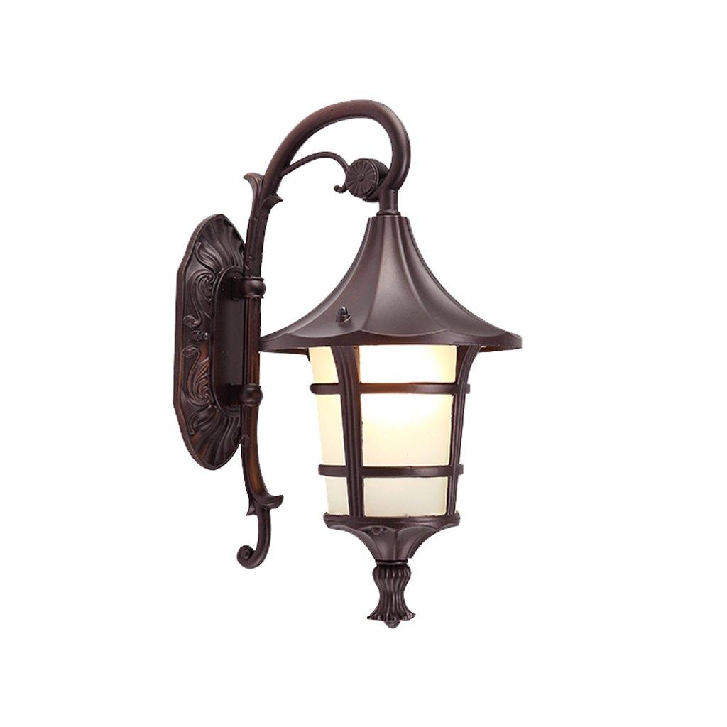 Felice shopping ZL-illuminazione esterna Applique per per per balcone Impermeabile led Applique per esterno (colore   Marronee, dimensioni   21.5cm)  migliore marca
