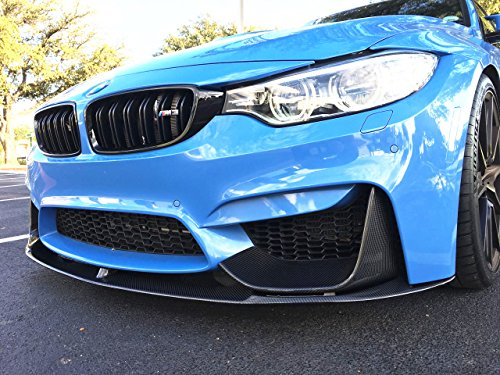 Bmw M3 Carbon Fiber (For BMW F8X M3 M4 M Performance Style Carbon Fiber Front Lip Splitter)