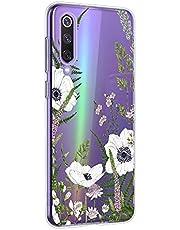 Oihxse Mandala Flores Encaje Patrón Serie Case Compatible con Motorola Moto G6 Funda TPU Silicona Suave Protector Ultra Slim Anti-Rasguño Transparente Carcasa (A16)