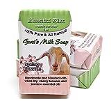 full refund - All Natural Handmade Goat Milk Soap *Spring Blossom* 4 Ounce bar Good for your Skin * Wonderful Fragrance. * Full Refund if not Delighted!