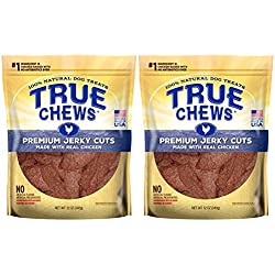 Tyson Pet Products True Chews Premium Jerky Cuts 12 Ounce Chicken (2 Pack)