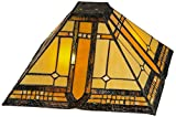 Meyda Tiffany 137957 Sierra Prairie Mission Shade, 13 sq. in.