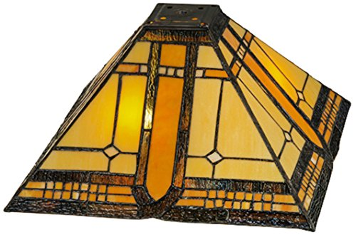 Meyda Tiffany 137957 Sierra Prairie Mission Shade, 13 sq. in. by Meyda Tiffany