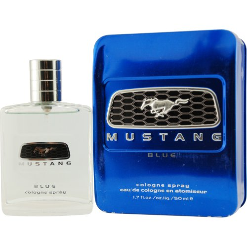 Cologne Blue Mustang - Mustang Blue by Blossom Concepts, 1.7 oz Cologne Spray