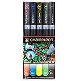 chameleon color tones - Chameleon 5 Pen Primary Tones Set CT0502 Color Tones Markers
