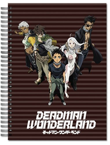 Great Eastern Entertainment Deadman Wonderland A4 Spiral Notebook by Great Eastern Entertainment