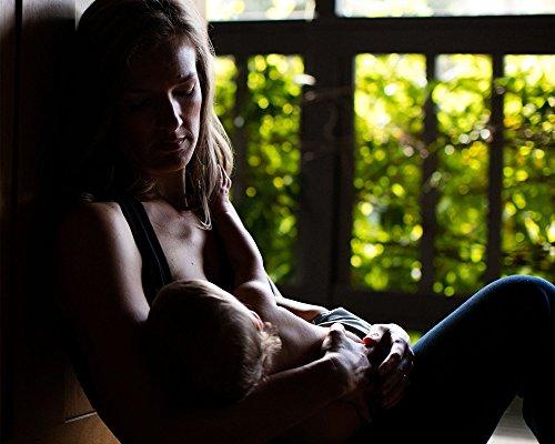 Kindred Bravely French Terry Racerback Nursing Sleep Bra for Maternity/Breastfeeding (Large, Black) by Kindred Bravely (Image #6)'