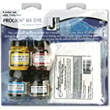 Jacquard Products Procion Four Color MX Dye Set with Soda Ash