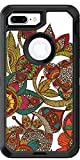 Ava Garden design on Black OtterBox Defender for iPhone 8 Plus
