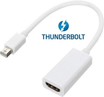 Cablecc 10/cm mini DVI maschio a HDMI femmina adattatore Video per Apple MacBook Old version