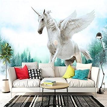 Mbwlkj Desktop Tapete 3D Bilder Hd Custom Fototapete Pferd ...