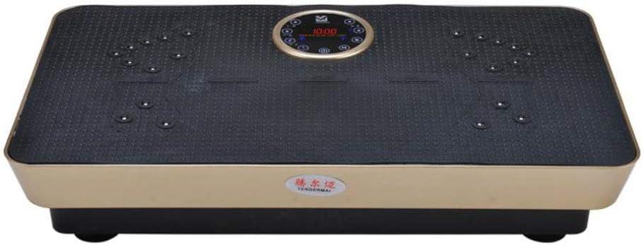 HYYQG 瘋狂振動板,全身搖動99級阻力帶配備藍牙音箱男女通用振動訓練器,用於減肥和身體調理 c