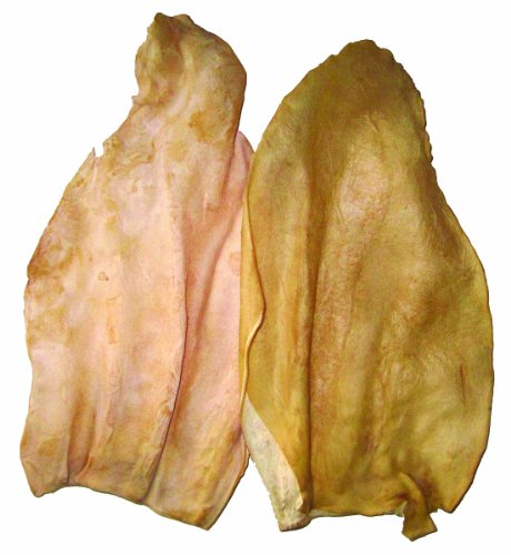 Best Buy Bones - USA Made 3-Pack Cow Ears for Dogs, Smoked - Healthy Pet Chews for Dogs -  007674