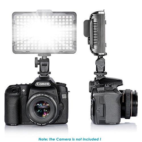 Bestlight¨ Photo Studio 176 LED Ultra Bright Dimmable On Camera Video Light for Canon,Nikon,Pentax,Panasonic,Sony
