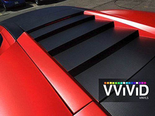 VViViD Red Satin Chrome car wrap 22ft x 5ft stretch conform