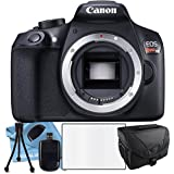 Canon EOS Rebel T6 Body, Camera Case, Table Top Tripod, SD Camera Case, Lens Cleaning Kit, LCD Screen Protector