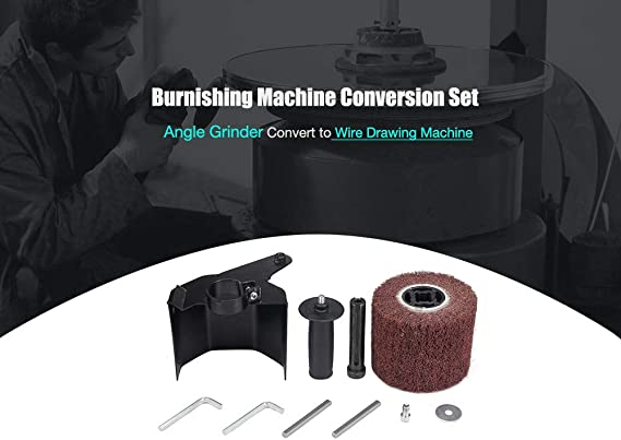 M14 Electric Grinder Parts Accessories Kecheer Multifunctional Angle Grinder Burnishing Polishing Machine Attachment Accessories Metal Steel Wood Sander Extended Shaft for Angle Grinder