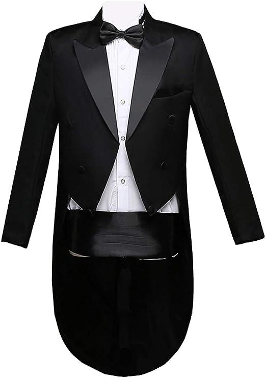 Amazon.com: Qinni-shop - Traje de esmoquin para hombre (4 ...