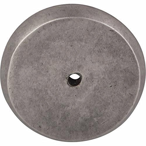 (Top Knobs M1465 Aspen Collection 1.75 Inch Round Backplate, Silicon Bronze Light)
