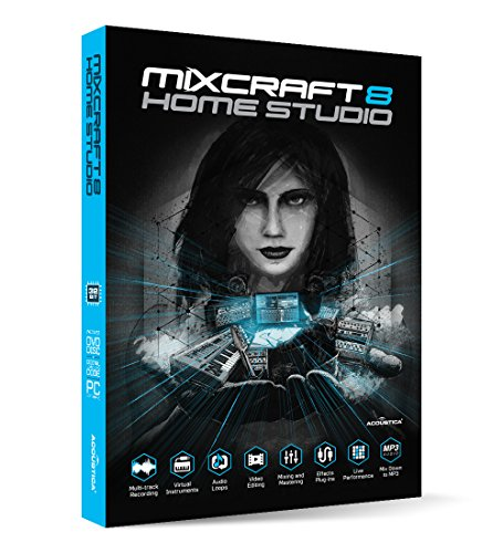 Professional Music Mixing Software (Acoustica Mixcraft 8 Home Studio)