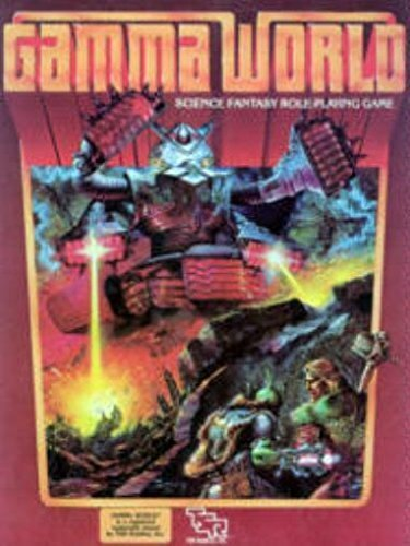 Gamma World Science Fantasy Role-Playing game by TSR Hobbies