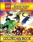 LEGO BATMAN & MARVEL AVENGERS Coloring Book: Lego Marvel & DC Super Heroes Coloring Books for Kids (37 high-quality Illustrations)