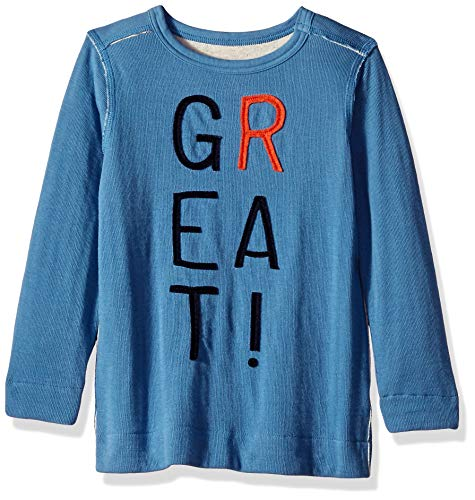 Gymboree Boys' Big Long Sleeve Baseball Raglan Tee, Lightning Green M from Gymboree