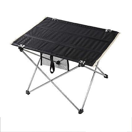 A-Fort Table Mesa Plegable, Mesa de Aluminio portátil, Mesa de Picnic para