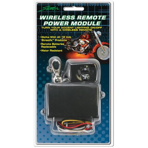 Street FX 1043054 ElectroPods Black Wireless Remote Module (Light Electropods Street Fx)