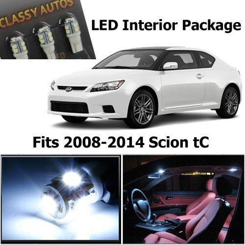 scion-tc-white-interior-led-package-7-pieces