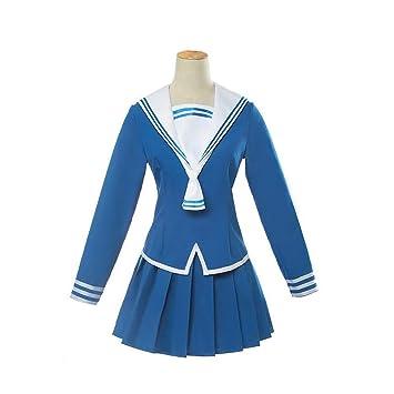 ULLAA Fruits Basket Anime Cosplay Disfraz Colegio Uniforme Azul ...