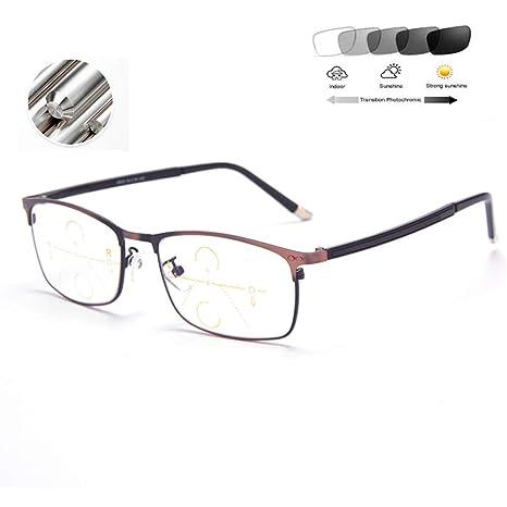 HQMGLASSES Gafas de Lectura progresivas de Enfoque múltiple ...