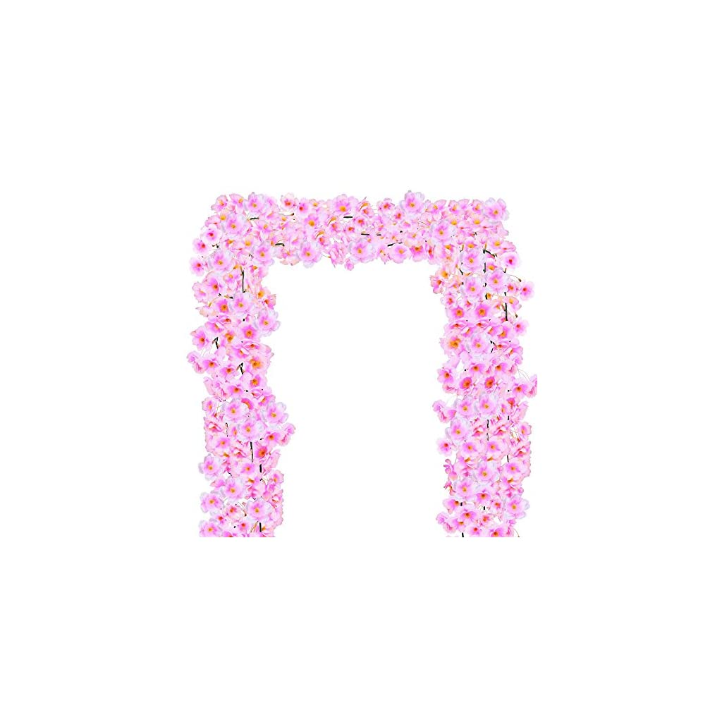 Supla-Artificial-Cherry-Blossom-Flower-Garlands-in-Pink-4-Long