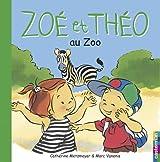 Zoé et Théo au zoo