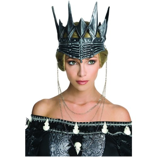 Snow White and The Huntsman Queen Ravenna's Crown, Metal, One Size (Snow White Halloween Costume Adults)