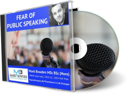 Fear of Public Speaking Hypnotherapy CD - Public speaking is important, it's can also be extremely frightening. This recording will help to naturally condition your mind to feel more confidence when giving presentations or talking in groups. Not only making you feel more comfortable but also reaping the benefits that come with being able to be confint when you speak in any situation!