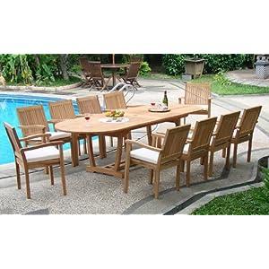 51Xa-80H7BL._SS300_ Teak Dining Tables & Teak Dining Sets