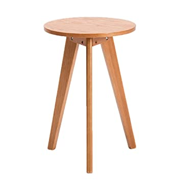 Xbbz Table Haute En Bois Massif Canape Simple Table D Appoint Salon