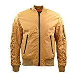 Jordan Craig Men's Solid Flight Jacket (XL, Wheat)