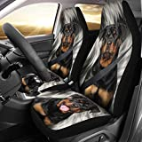 Wear My Pet Rottweiler Print Car Seat Covers Review