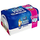 Fresh Step Clean Paws Unscented Low Tracking Clumping Cat Litter - 34.2 pounds