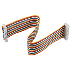 uxcell IDC 34 Pins Wire Flat Multicolore...