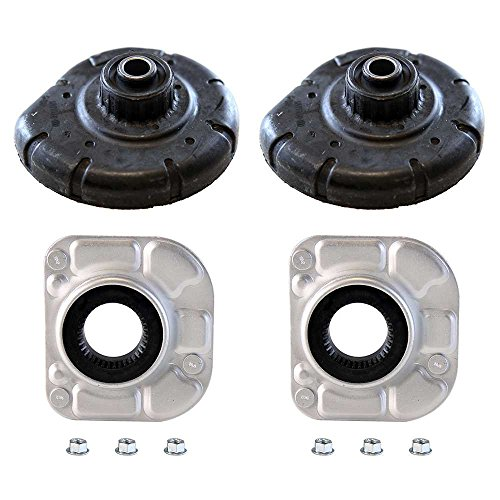 Prime Choice Auto Parts SM4905-KM9710 2 Front Strut Mounts and 2 coil Spring ()
