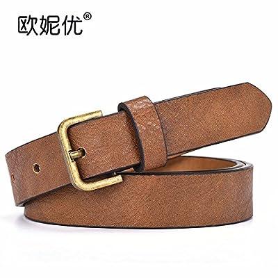 2018 Nouveau style simple amende de décoration female fashion mesdames  loisirs ceinture ceinture ceinture général 72e735e9998