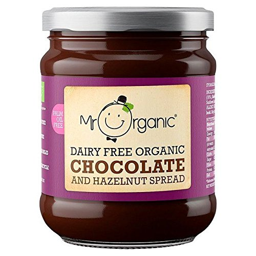 Mr Organic Free From Chocolate & Hazelnut Spread - 200g (0.44lbs) (Sauce Organic Chocolate)