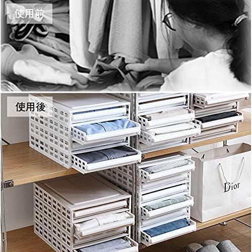 収納ケース チェスト 引き出し 6段 組み立て簡単 ホワイト 衣類 雑誌 ファイル (白, 6段)