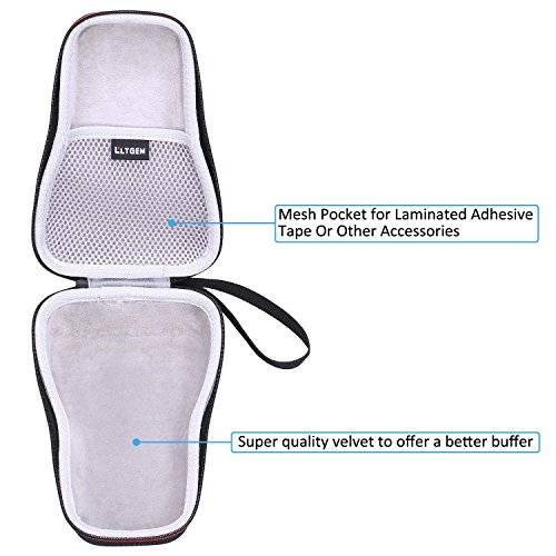 LTGEM EVA Hard Case for Brother P-Touch Easy Portable Label Maker Travel Protective Carrying Storage Bag PTH110